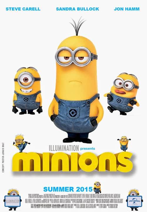 Minions (2015) มินเนี่ยน + ตอนพิเศษ 3 ตอน