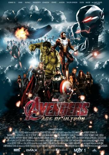 The Avengers : Age of Ultron ดิ อเวนเจอร์ส: มหาศึกอัลตรอนถล่มโลก