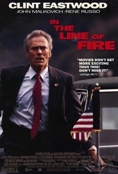 In The Line Of Fire (1993) แผนสังหารนรกทีละขั้น