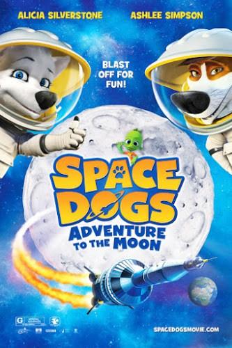 Space dogs 2 Adventure to the Moon (2016) สเปซด็อก 2 น้องหมาตะลุยดวงจันทร์