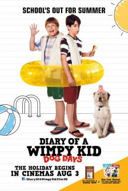 Diary of a Wimpy Kid Dog Days (2012) ไดอารี่ของเด็กไม่เอาถ่าน 3 ปิดเทอมแสนป่วน