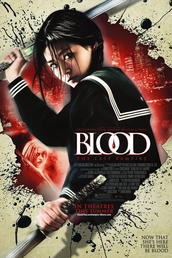 Blood The Last Vampire (2009) ยัยตัวร้าย สายพันธุ์อมตะ